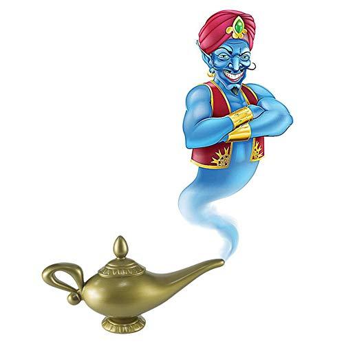 Cosplay De Plástico Magia De Halloween Panto Árabe Para Aladdin Genie Lámpara Fancy Dress Prop