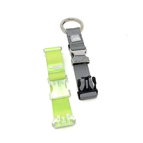 Beam Nier Luggage Strap Jacket Gripper, Adjustable Belt Travel Accessories Travel Attachment, Baggage Suitcase Straps