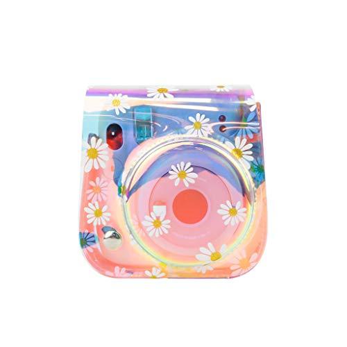 Funda para cámara compatible con Fujifilm Instax Mini 11 Mini 8 Mini 8 Mini 9 Bolsa de cámara compatible con Instax Mini 11 Mini 8+ Mini 9 (Magic Purple)