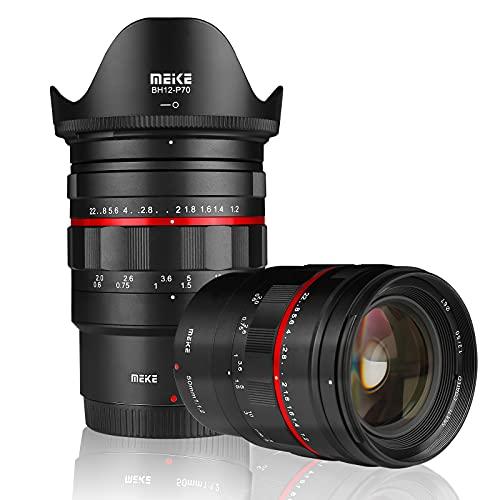 Meike MK-50mm F1.2 LargeAperture Full Frame Manual Focus Fixed Lens for Nikon Z-Mount Z5 Z6 Z7 Z50