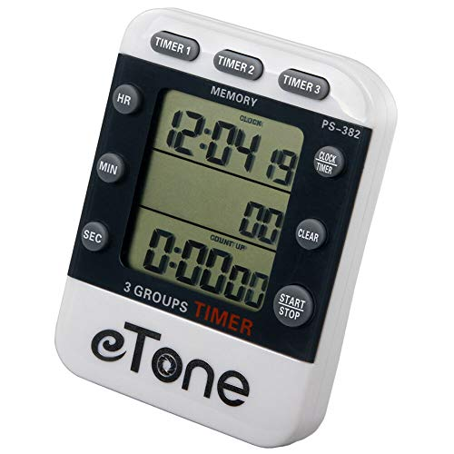 eTone 3 Channel Timer Counter Darkroom Developing Countdown Clock Processing Equipment Film Camera Accessories