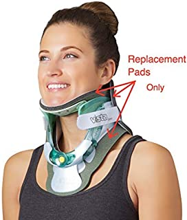 Replacement Pads - Aspen Vista TX Cervical Collar Neck Brace; Same Design and Thickness as The Pads on Aspen Vista TX When Made, Hypoallergenic, One-Size