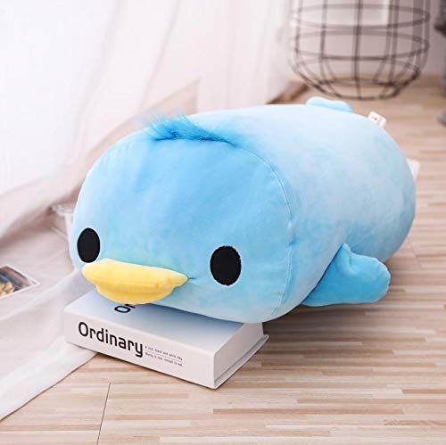 N / A Stuffed Down Cotton Lying Duck Plush Toys Cute Yellow Duck for Children Soft Pillow Cushion Birthday 40CM