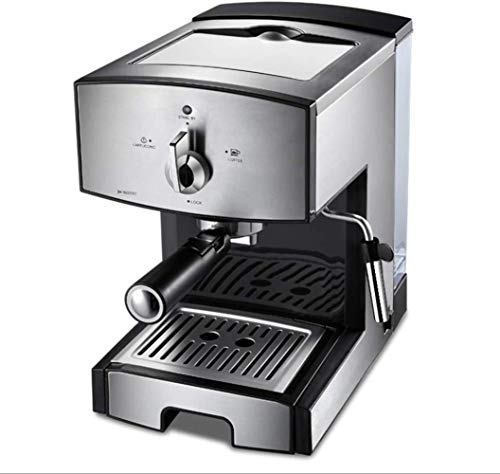 MISLD La presión de 20 Bar máquina de café termómetros observable / 1,25 litros / 1350 vatios/Vapor en la operación de extracción de Espuma Doppelpore simplifica Escritorio/Home -.
