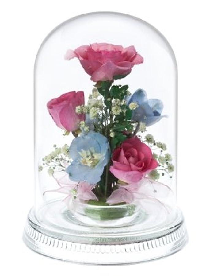 気づかない消費アレルギー性Reine De Fleur レンデフロール 【R-E】 バラ?デルフィニューム?かすみ草 W102 H140mm
