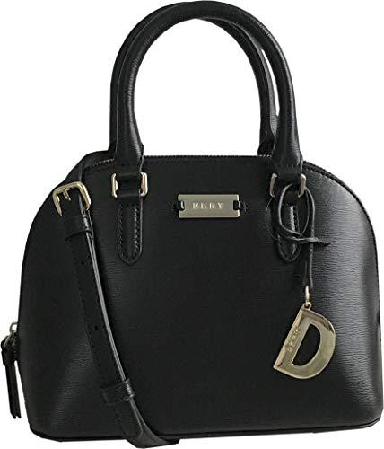 DKNY Mini Dome Satchel Handbag with Removable Cross Body/Shoulder Strap