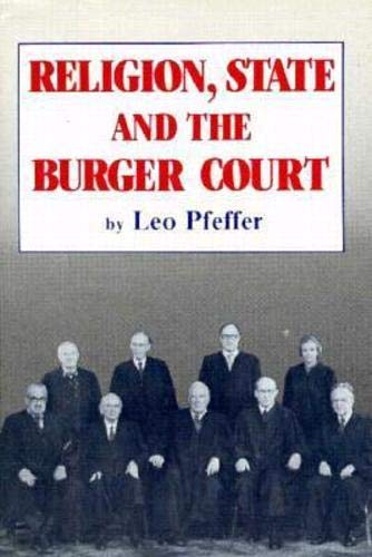 Religion, State and the Burger Court