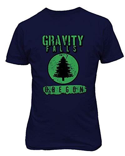 Dazzle Camiseta Gravity Dipper Mabel Oregon Camiseta Estampada Divertida de la Novedad de los Hombres