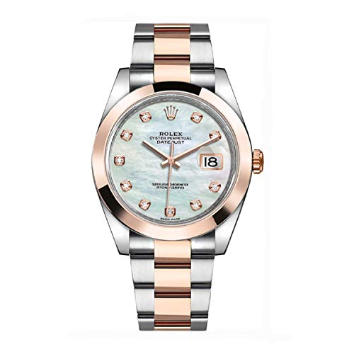 Rolex watch with Mother of Pearl Dial