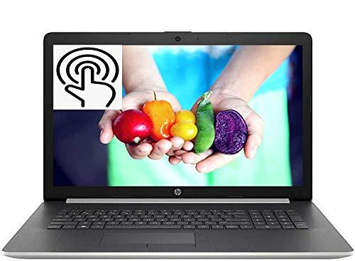 "HP 17 2020 Newest Premium Laptop Computer I 17.3"" HD+ Touchscreen I AMD Quad-Core Ryzen 5 3500U (>i7-7500U) I 8GB DDR4 256GB SSD I WiFi HDMI Backlit KB DVD Win 10 + Delca 16GB Micro SD Card"