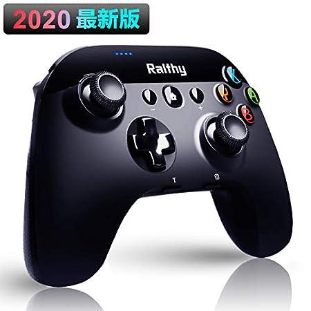 【本日最終日】Ralthy ジャイロセンサー搭載連射機能対応Switchコントローラー 1,390円送料無料!