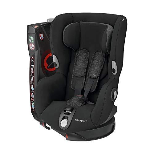 Bébé Confort Siège Auto Pivotant de Groupe 1 Axiss, Siège Auto Inclinable, de 9 Mois à 4 Ans, de 9 à 18kg, Nomad Black