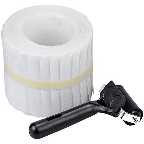 Zaleonline 15 STK Antirutschstreifen für Treppen 60 x 10 cm Transparent Anti-Rutsch Streifen für Treppen Dusche Rutschschutz Treppenstufen Matten mit Installationsrolle