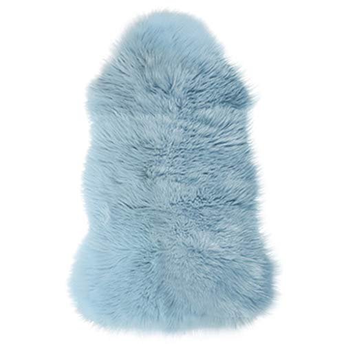 Check Out This CarPet Super Soft Fluffy Cushion Blue Home Decoration 60cmx90cm