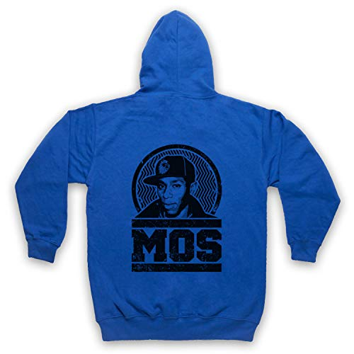 The Guns Of Brixton Mos Def Tribute Sweat a Capuche avec Un Fermeture Eclair des Adultes, Bleu, Large