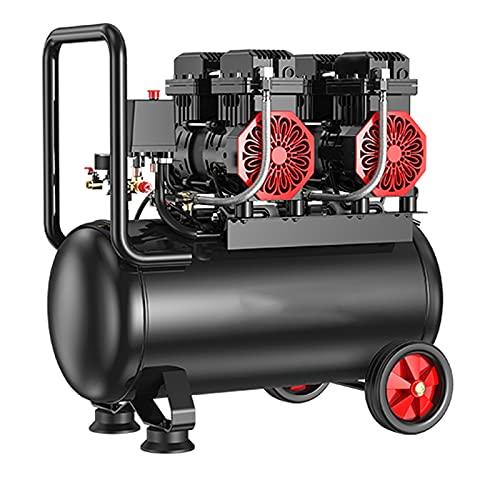 WUK 850/1490/2980W Mute Air Compressor 12/30/60 L Oil-Free Portable Air Compressor Household Air Pump Tire Inflator Woodworking Pneumatic Tools
