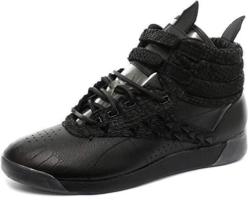 Reebok Classic F/S Hi PM Patrick Mohr Int Damen Sneakers, Schwarz, 37 1/2