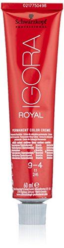 Schwarzkopf IGORA Royal Premium-Haarfarbe 9-4 extra hellblond beige, 1er Pack (1 x 60 g)