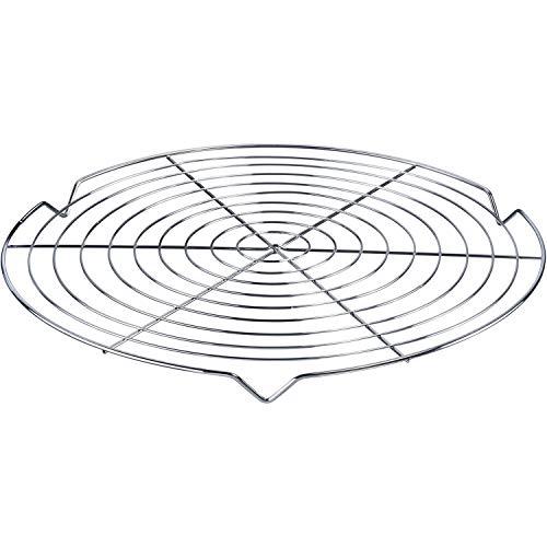 Westmark Kuchenauskühler/Kuchengitter, Rund, Durchmesser: 31,7 cm, Stahl, Verchromt, 3144270