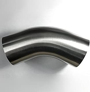 2.5 inch stainless steel mandrel bends