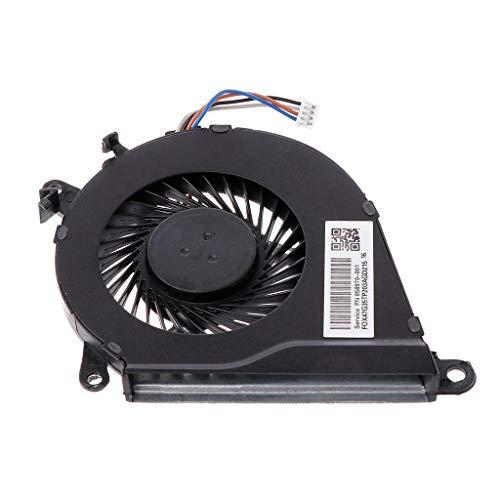 ATATMOUNT Ventilador de refrigeración Reemplazo del Enfriador de CPU para computadora portátil HP OMEN 15-AX TPN-Q173 15-BCS 15-BC013TX BC015TX