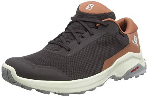 Salomon Damen Wanderschuhe, X REVEAL GTX W, Farbe: grau (shale/cedar wood/alloy) Größe: EU 44