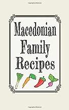 macedonian cookbooks in english