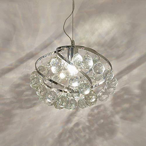 Lámpara de techo de cristal transparente, cortina de lluvia colgante, lámpara de arte de iluminación decorativa, lámpara de techo de una cabeza, 80 * 26 cm