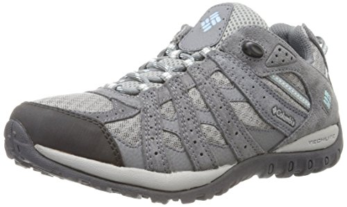Columbia Redmond - Zapatillas de senderismo para mujer, color multicolor (boulder/sky blue),...