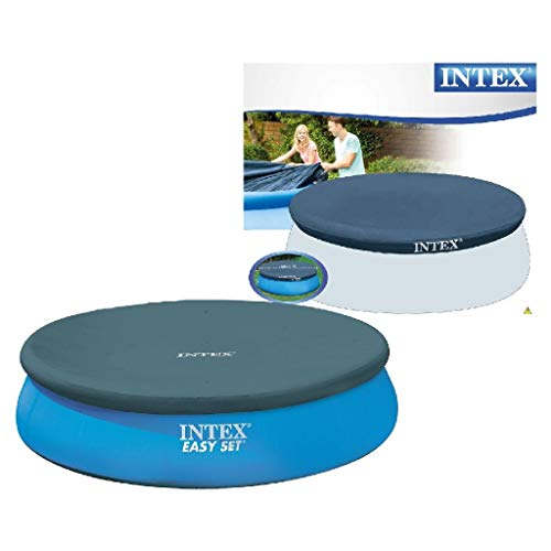 Intex Easy Set Pool Cover - Poolabdeckplane - Ø 366 cm - Für Easy Set Pool