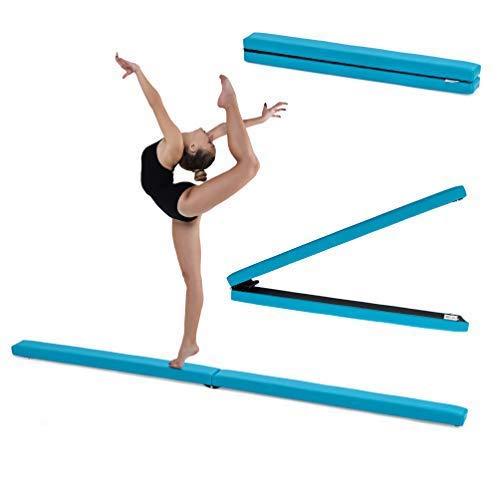 Fun!ture Turquoise Faux Leather Folding Gymnastics Training Balance B