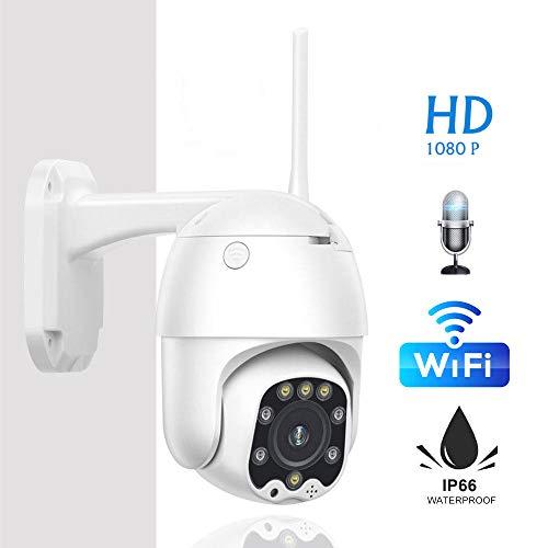 Cámara CCTV 3g 4g Tarjeta Sim WiFi Inalámbrico Ptz Cámara IP 2mp HD Seguridad Vigilancia Exterior Audio Bidireccional 1080p 1080P Versión WiFi