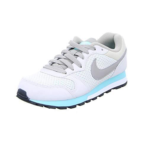 Nike MD Runner 2, Zapatillas de Running Mujer, Marrón (Light Orewood Brown/Cobblestone/Aurora Green), 36.5 EU