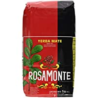 Rosamonte - Yerba mate (con tallos), 2 kg 1 kg (Pack of 1)