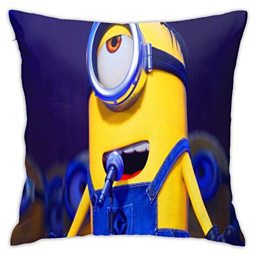 Minons - Funda de almohada decorativa para decoración del hogar