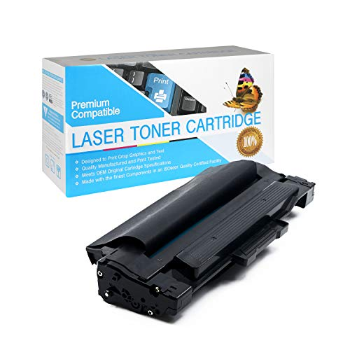 SuppliesOutlet Compatible Toner Cartridge Replacement for Dell 1130/1133 /1135/310-9523 / 2MMJP / 7H53W / 7W53W / 330-9523 (Black,1 Pack)