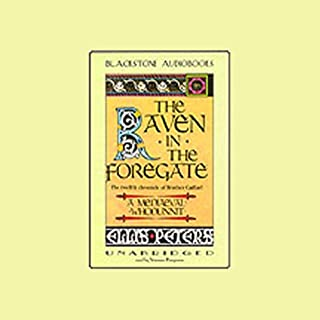 The Raven in the Foregate     The Twelfth Chronicle of Brother Cadfael              By:                                                                                                                                 Ellis Peters                               Narrated by:                                                                                                                                 Vanessa Benjamin                      Length: 7 hrs and 7 mins     44 ratings     Overall 3.9
