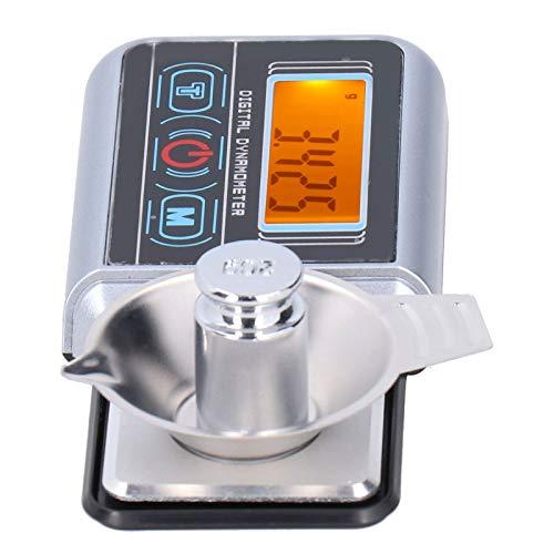Waage, Gewichtungswerkzeuge Digitaler Plattenspieler Stylus Force Scale Schmuckwaage, mit Touchscreen-Maßeinheit, die die Mini-Elektrowaage für zu Hause umschaltet(100/0.005G)