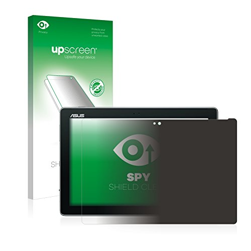 upscreen Anti-Spy Blickschutzfolie kompatibel mit Asus ZenPad 10 Z300C / Z300CL / Z300M Privacy Screen Sichtschutz Bildschirmschutz-Folie