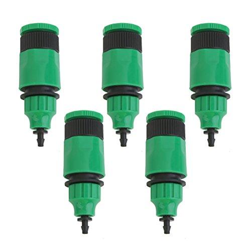 FITYLE 5pcs Adaptateurs de Tubes d'eau pour Irrigation Tube Capillaire Adaptateur de Connecteur