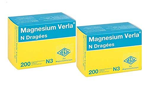 Magnesium Verla N Dragees (2x 200 Stck.) - Doppelpack