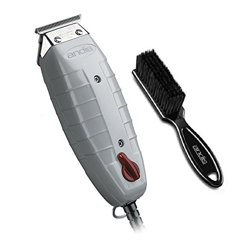 Andis T-Outliner Trimmer, Gray, Model GTO (04710) W/OEM Andis Blade Brush
