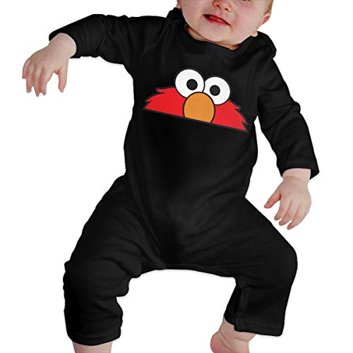 Happiness Station Oscar The Grouch Baby Playsuit Long Sleeve Outfits Infant Boys Girls Rompers 0-24 Months Babies Jumpsuit Clothes Kids Playsuits Toddlers Outfits