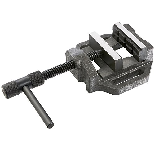 Arebos Maschinenschraubstock / 75 mm Backenbreite