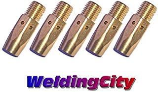 WeldingCity 5-pk Gas Diffuser 169-728 for Miller Millermatic M and Hobart H MIG Welding Guns