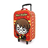 Karactermania Harry Potter Wand - Maleta Trolley Soft 3D, Multicolor, Un tamaño