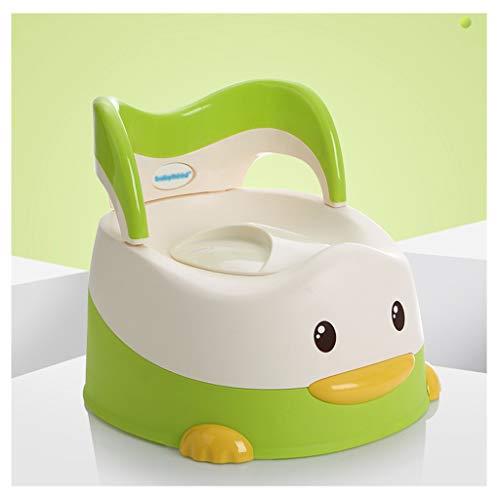 Apprentissage de la propreté Bébé Enfant Toilette Toilette Bébé Bébé Pot Pot Bébé Toilette Femme Enfant Toilette 1-3-6 Ans (Couleur : Green)