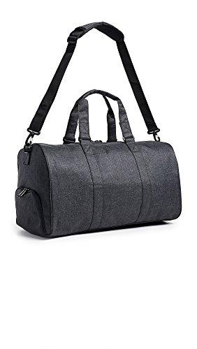 Herschel Novel Duffel Bag, Cub/Tan Synthetic Leather, Classic 42.5L