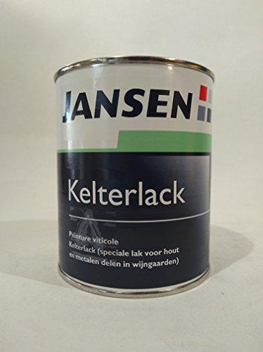 3 x Jansen Kelterlack weiß 0,75l