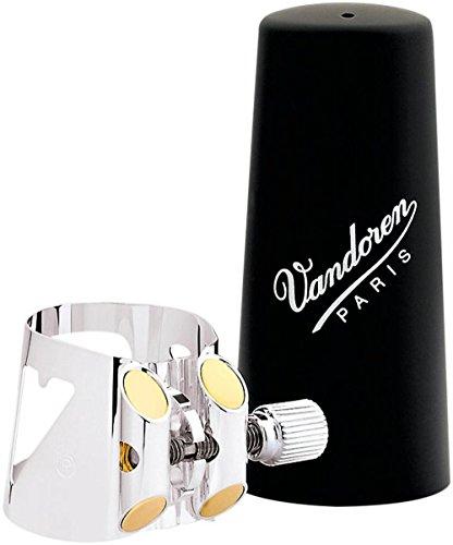 Vandoren LC04P - Abrazadera para clarinete, color plateado